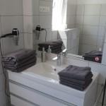 Waschtisch im Bad