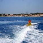 Freizeitspass auf dem Wasser