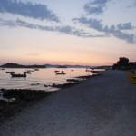 Sonnenuntergang vor Pakostane